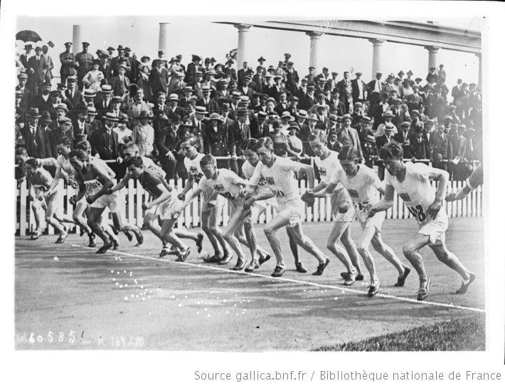 Anvers, départ de la finale du 5000 m [Jeux olympiques, 17/8/20] : [photographie de presse] / [Agence Rol] - 1