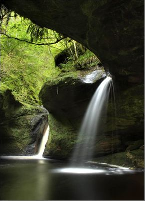 Glen Ashdale Falls, Whiting Bay, Isle of Arran, Scotland