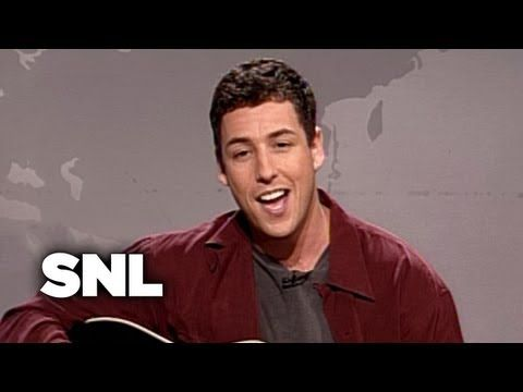 Adam Sandler - Hannukah Song (Part 1) Publically identified as being Jewish, he uses his heritage in a fun way.