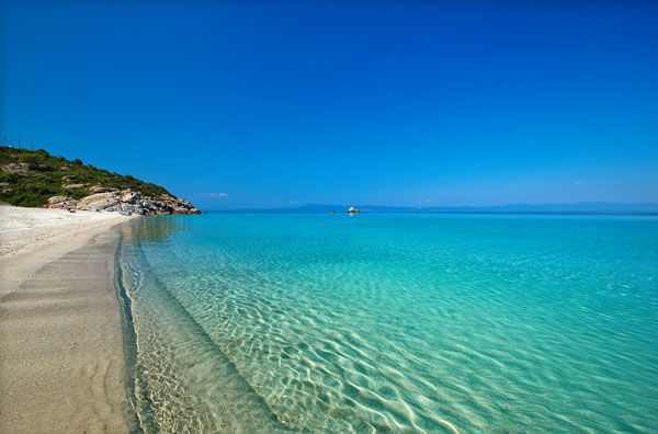 Bousoulas beach, halkidiki, greece. The best beach I have ever visited!