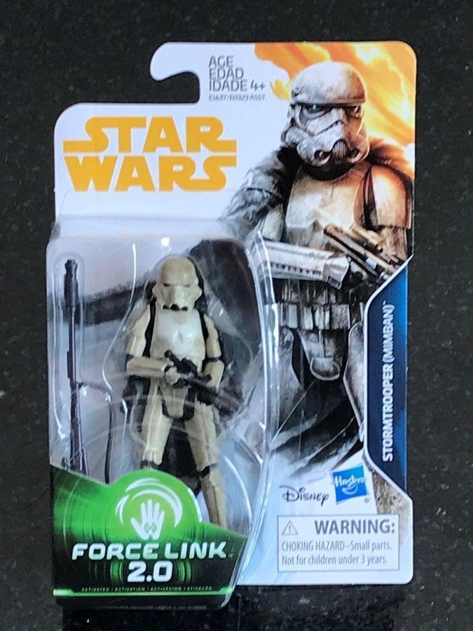 Disney Star Wars Solo Force Link 2.0 Stormtrooper Mimban Hasbro