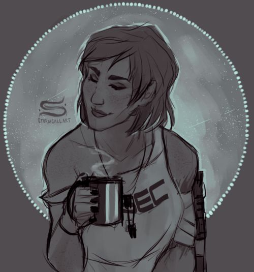 Commander Shepard: the gorgeous design makes me swoon