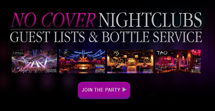 Get on the guest list for free for the best clubs in Las Vegas, or make a reservation for bottle & table service by connecting directly with a VIP host.