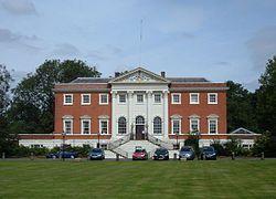 Warrington Town Hall  was house to Thomas Patten in 1750   Warrington, Cheshire, England
