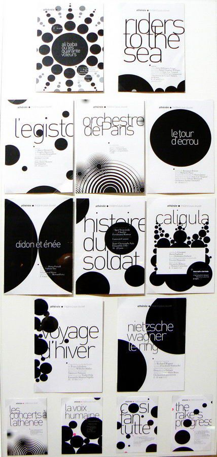 Choix de programmes du répertoire musical à l'Athénée - Malte Martin, 2009-2012