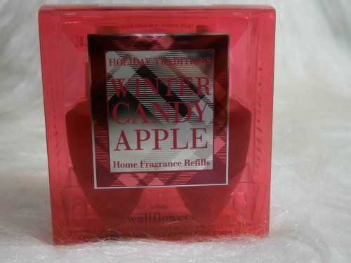 Bath & Body Works Slatkin & Co. Winter Candy Apple Holiday Traditions Wallflower Home Fragrance Refills by Bath & Body Works. $24.99. Created by world-renowned home fragrance expert, Harry Slatkin. Contains: 2 Home Fragrance Bulbs (0.8 fl oz/24 ml per bulb). Scent any room 24/7 with Noticeable Freshness for weeks and weeks (Diffuser sold separately). One Box of Two Slatkin & Co. Wallflower Refill Fragrance Bulbs which spread true-to-life fragrance into any room, ...