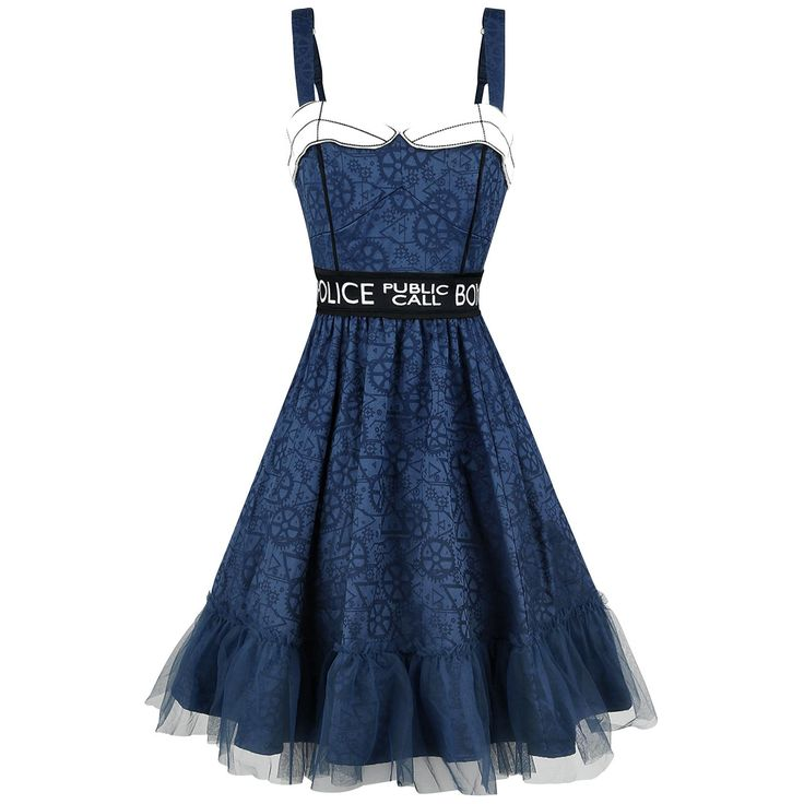 Tardis Dress - Short dress by Doctor Who
