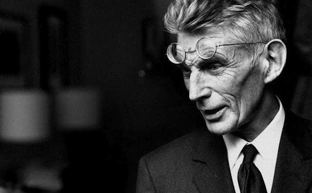 """""""Go on failing. Go on. Only next time, try to fail better."""" -Samuel Beckett"""