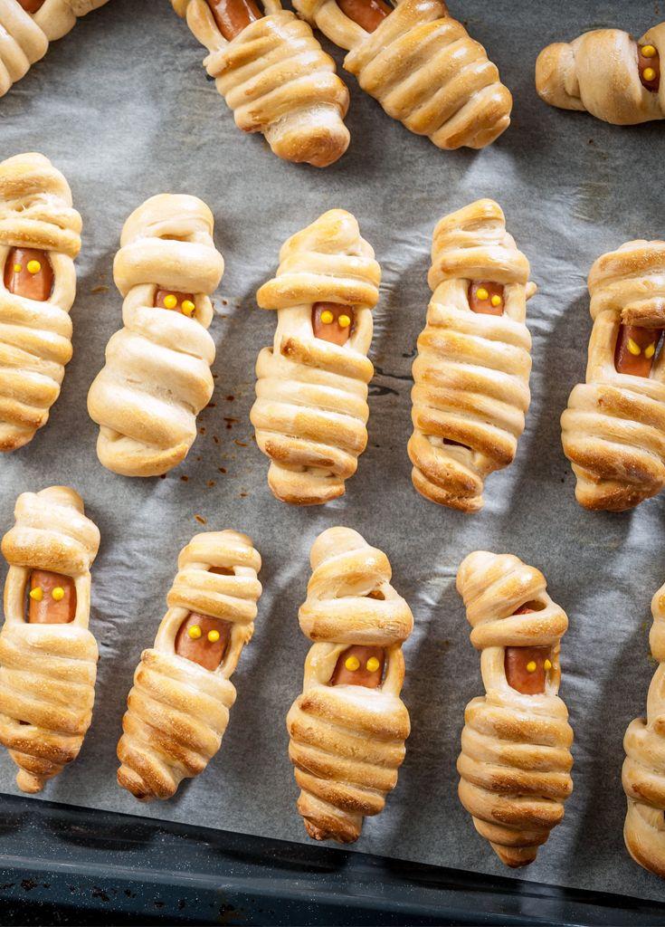 Herta Mummies - Create your own spooky snack!