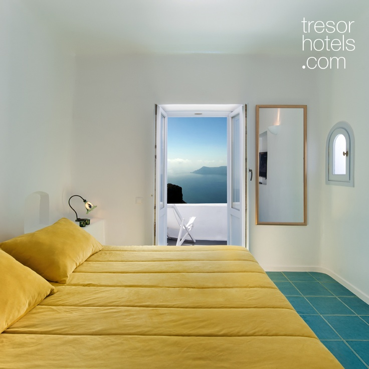 Trésor Hotels and Resorts_Luxury Boutique Hotels_#Greece_ The  location of #Senior #Suites of #Astra in the upper level of the complex will offer added privacy and even better views. White color in abundance will convey you to a world of pure serenity and the colorful bathroom tiled with rare Italian materials will catch your eye. Peace of mind is inevitable while you will be relaxing with dimmed lights on your ultra sized bed with special COCO MAT mattresses and pillows comforting your…
