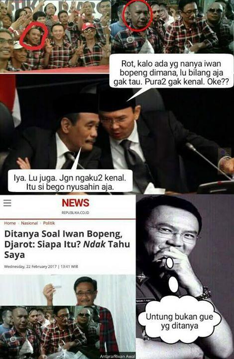 Balada Iwan Jamban..  KOTAK-KOTAK- dari penipu oleh penipu untuk penipu dan selamanya bakal menipu. Hehe  Sudahkah anda menipu hari ini? :-)