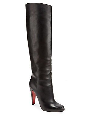 ee1b37c9f4d Christian Louboutin Marmara Tall Leather Boots | shoes!!!! | Tall ...