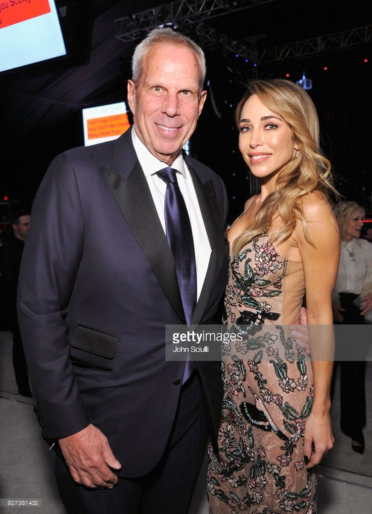 News Photo : Steve Tisch , and Katia Francesconi attends the...