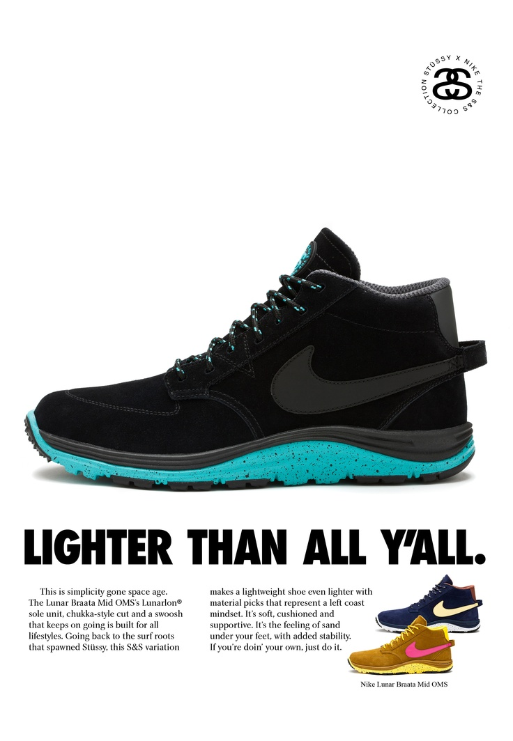 Nike x Stüssy 2012 little bro lovin this