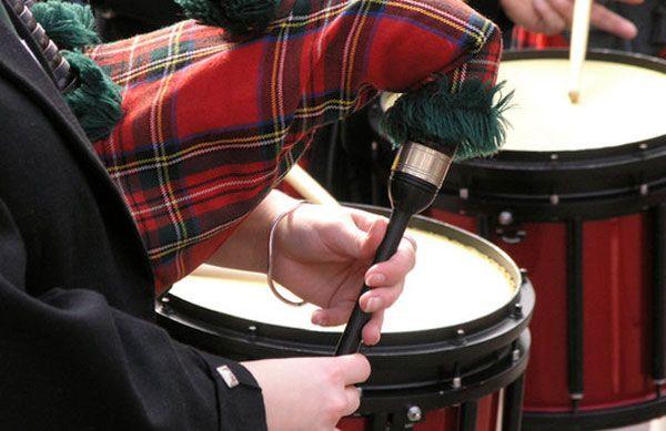 Foothills highland games drums