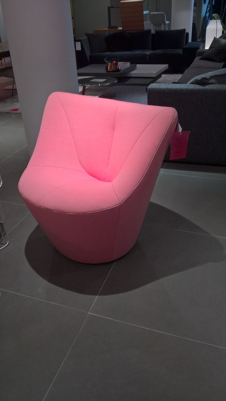 Anda small armchair in Pica Blossom pink fabric. Great condition . Usual Price 1519.00. This piece 31130 and ready to go