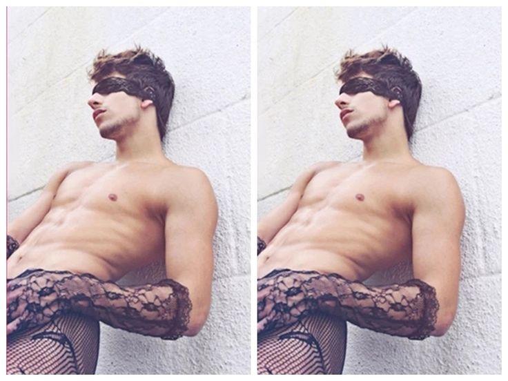 2017 Gay Men's Lace gloves stockings Male sexy underwear gloves special Mesh gloves gay male fun underwear gloves