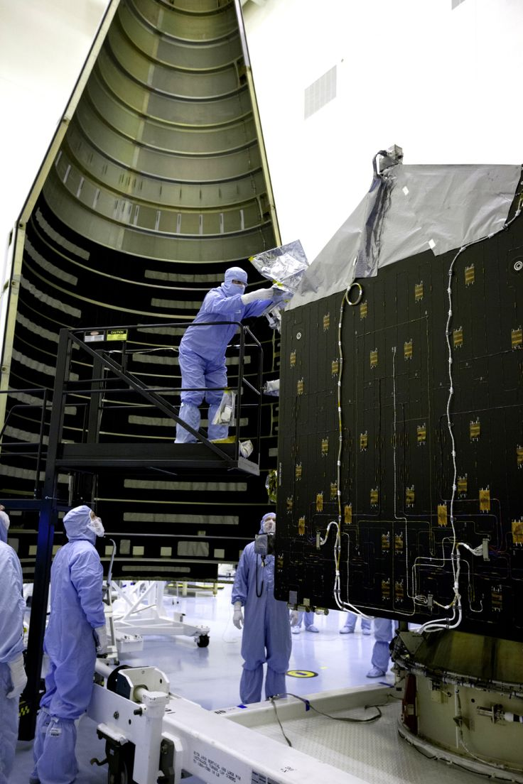 MAVEN Encapsulated in Payload Fairing Inside the Payload