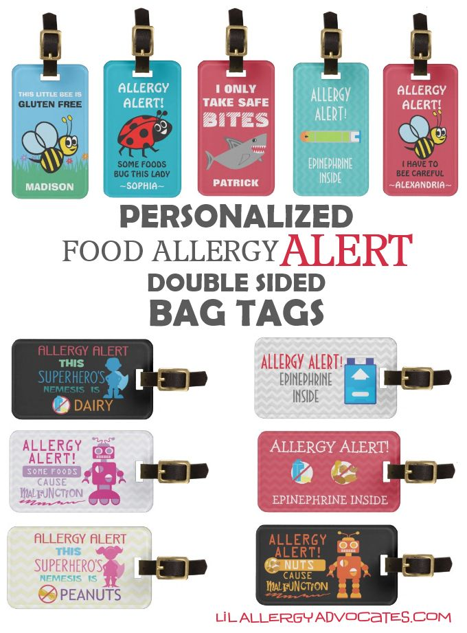 Food products for allergy sufferers
