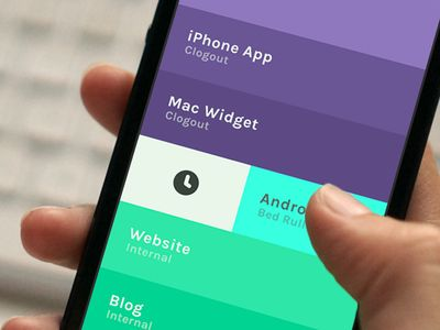 color, shadow and flat UI