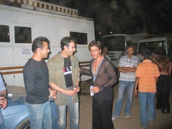 With Salman. . .
