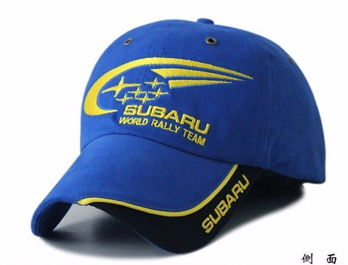 NEW SUBARU embroidery hat cap car moto gp moto racing F1 baseball cap #Unbranded #BaseballCap