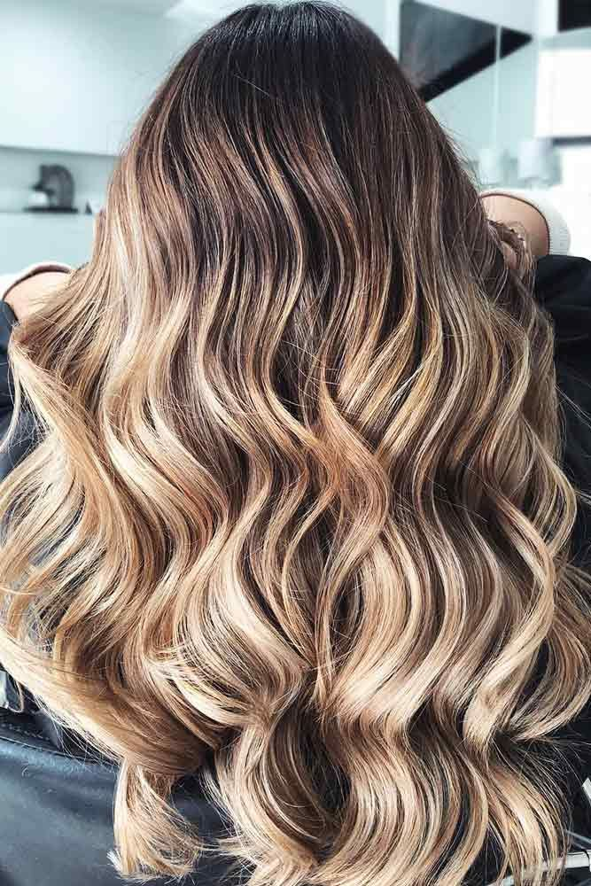 55 Highlighted Hair For Brunettes Lovehairstyles Com Brunette Hair With Highlights Brunette Hair Color Brown Hair With Blonde Highlights