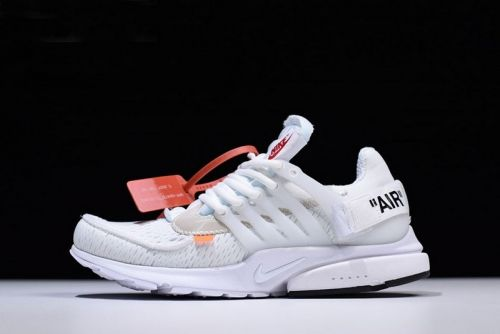 new styles 13af3 234cb Authentic Off-White x Nike Air Presto in White AA3830-100 Free Shipping -  Nawomenshoes