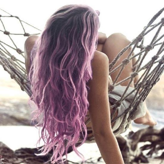 Açık Mor Saç Trendi