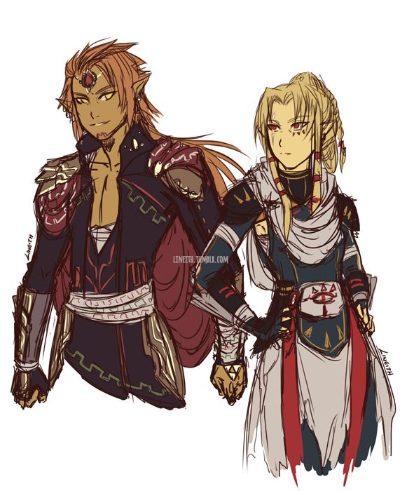 More: x After seeing debri-art's beautiful gerudo Link (GO CHECK IT OUT IF YOU HAVEN'T) yesterday, I couldn't stop thinking about the possibilities! Hence this was born. A Zelda AU were Ganondorf has taken over, destroyed the hero and the princess,...