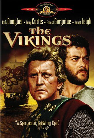 Bum and I watched The Vikings today - a 1957 movie with plenty of action and romance.