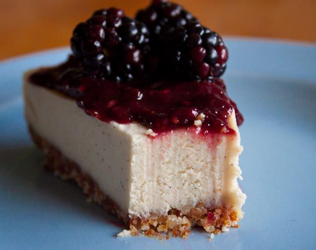 vegan | raw: cheesecake...