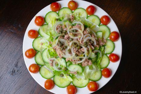 Maaltijdsalade met tonijn - Lovemyfood.nl