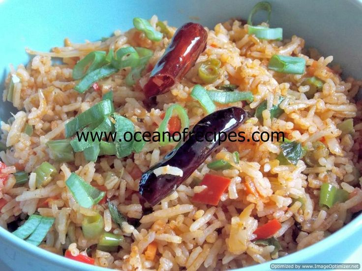 Szechuan vegetable fried rice