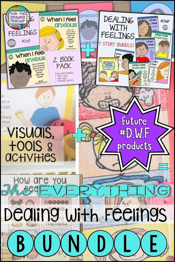 Teaching kids about feelings? Emotional regulation resources with storybook lessons ,visuals, tools and activities from the #DealingWithFeelings series are all bundled here, and future #DWF products will be added. $ #teaching #regulateemotions #specialeducation #iteachprimary #kindergarten #DWF #calming #kids #education #visuals