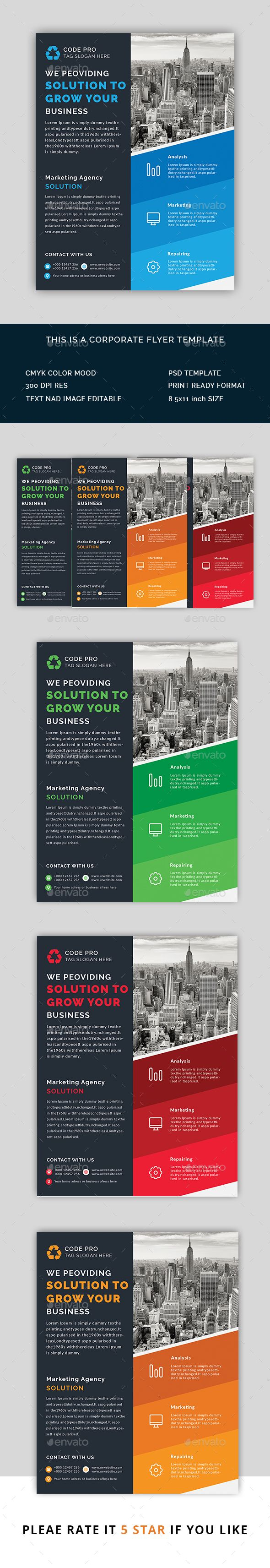 marketing flyers  corporate flyer v46 corporate flyers here graphicriver
