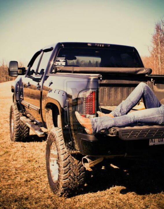 There is no love like a Girl and her truck ;P
