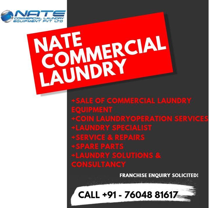 A Genuine Business Opportunity to Suit Your Lifestyle. Be your own boss with your new business, looking for better opportunity with continuous income, here you can make unlimited income, if it's suitable for both novice and experienced. We specialize in sale of commercial laundry equipment also we provide technical and franchise support. Interested people ping your contact or you can contact our support team.  Phone: +91 - 76048 81617 Email: info@natecle.in