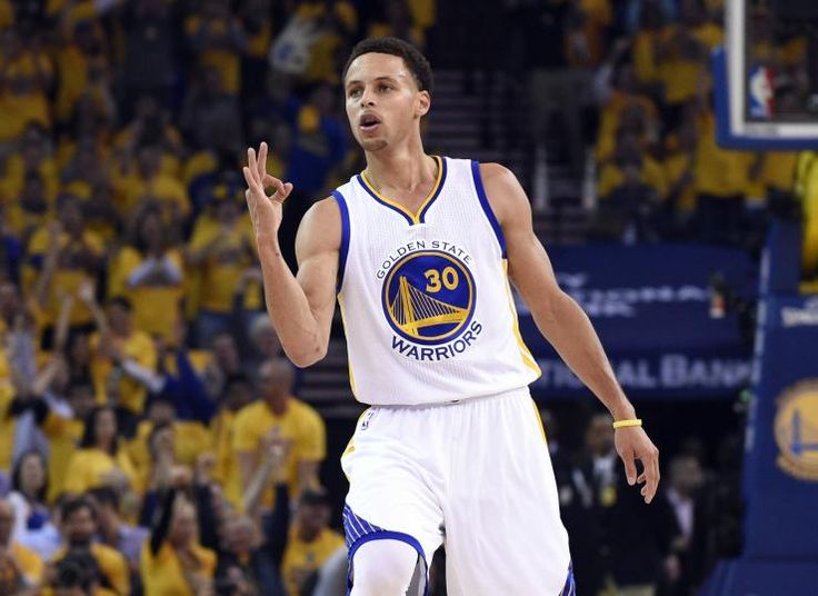 this is the best shooter in the NBA or the national basketball association of all time, he has records for most 3 pointers in an             NBA season and post season. Plus he won the NBA MVP award this year.