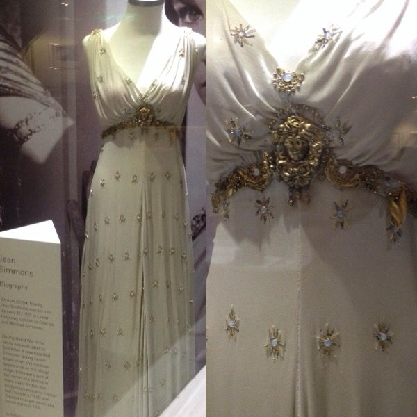 Jean Simmons- Iconic dress at Newbridge Silver, Kildare, Ireland