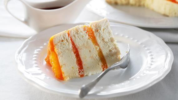 Творожная пасха с апельсиновым желе и соусом из кагора, пошаговый рецепт с фото