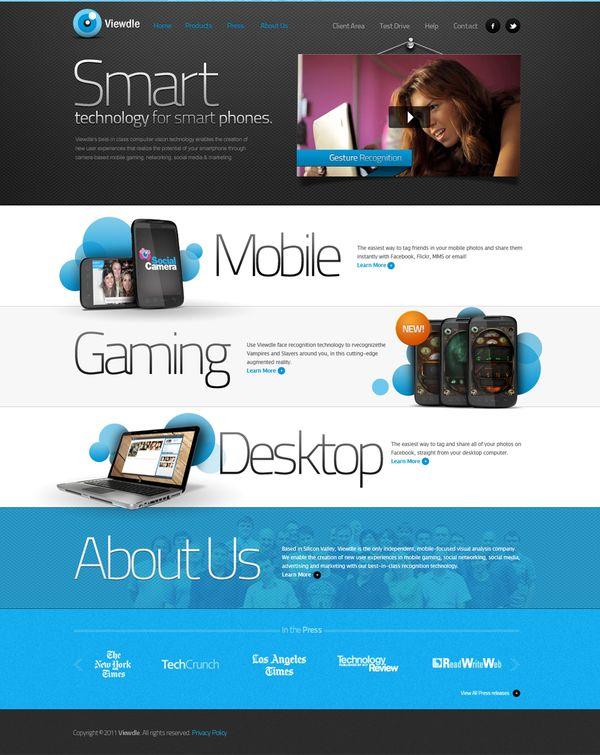 Viewdle on Web Design Served
