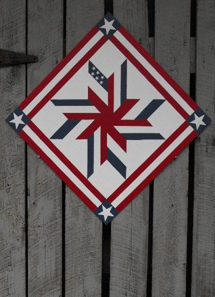 82 Best Red White Blue Wool Applique Images On Pinterest