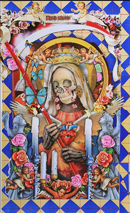 santa muerte - Google Search   Santa Muerte in 2019 ...