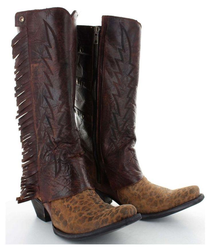 "Yippee Ki Yay by Old Gringo Women's Eunike 13"" Western Boots Orchre Rust YL213-1 #YippeeKiYay #CowboyWestern"