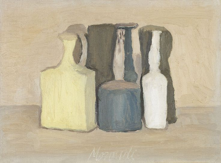 Metaphysical Still Life - Giorgio Morandi - WikiPaintings.org