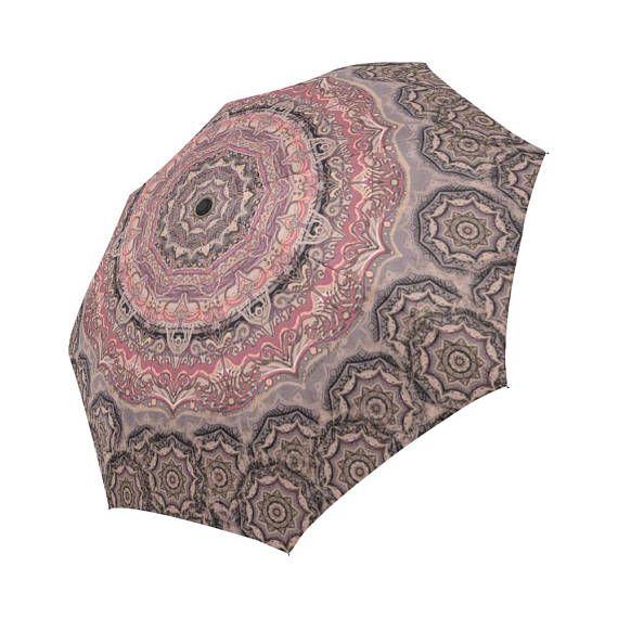 Artistic mandala-Assorted colors Large  umbrella-parasol-rain