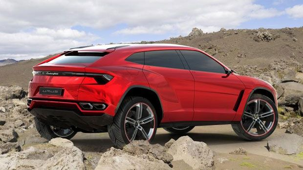 Lamborghini Urus  Need a vehicle that will fit the entire family inside, and still leave the average sports car in the dust? TheLamborghini Urus – an SUV to be unveiled at the Beijing Motor Show in a few days – is it.