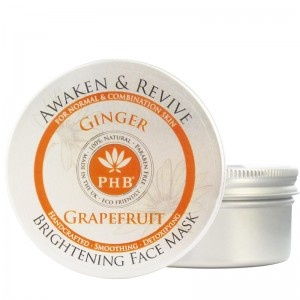 PHB Awaken & Revive Brightening Face Mask with Ginger & Grapefruit - Pure Halal Beauty - Ethical Beauty - available at khanbazaar.com