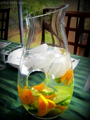 Gorgeous! via @Full Belly Clementine Lime Water #nowinseason